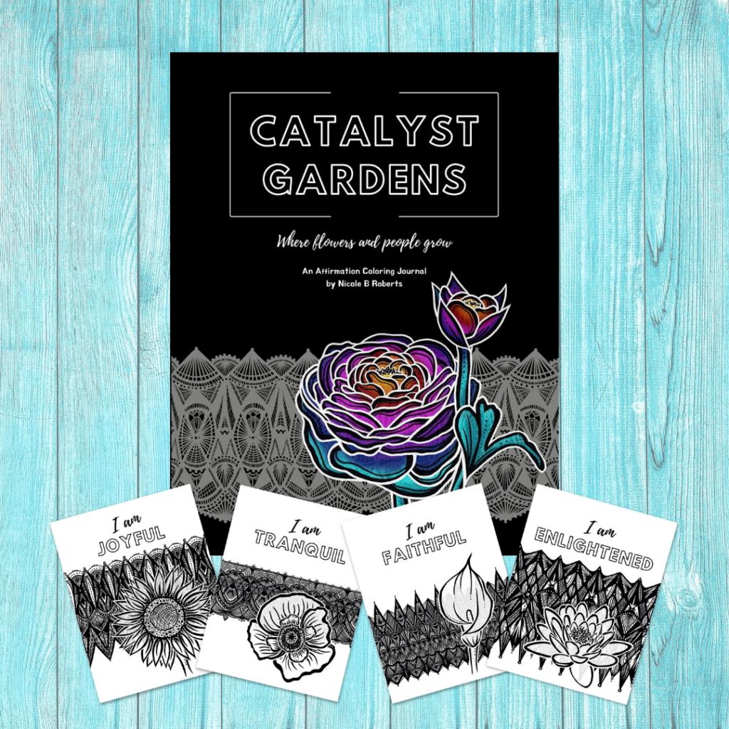 Catalyst Gardens coloring journal