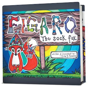 Figaro The Sock Fox Book